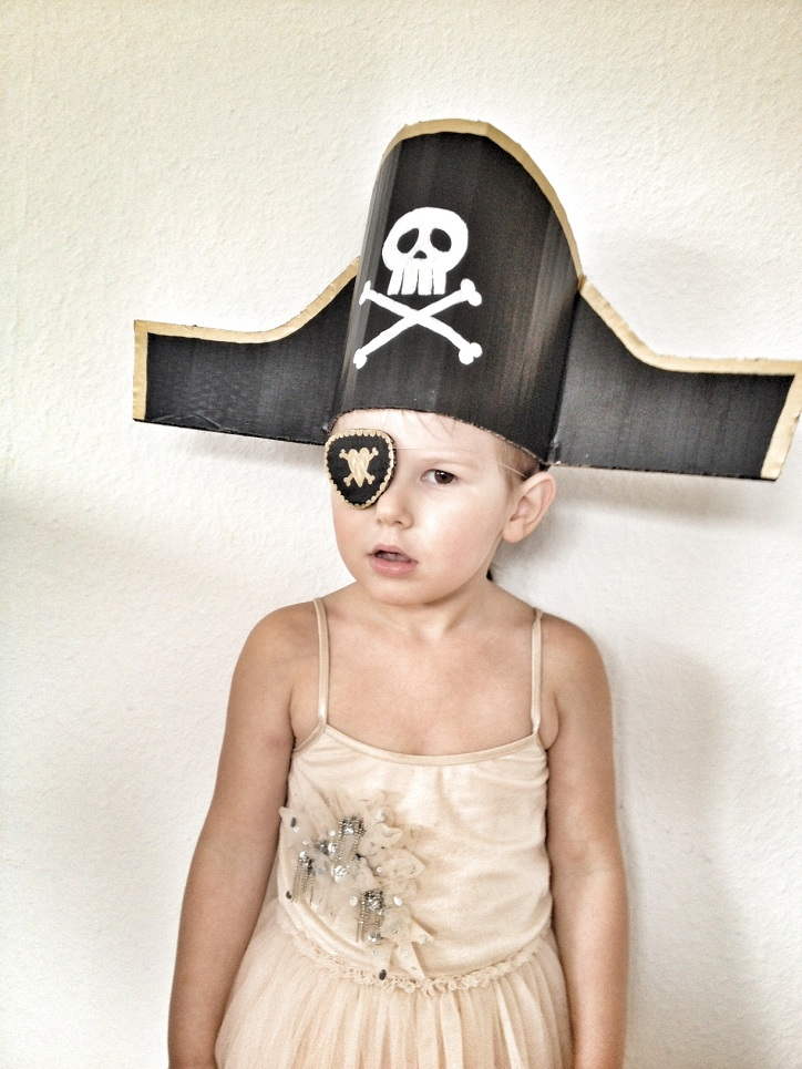 the pirate hat one of our favourite craft ideas for children