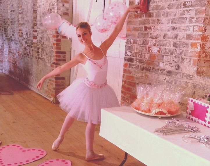An introduction to the way a girl becomes a professional ballerina