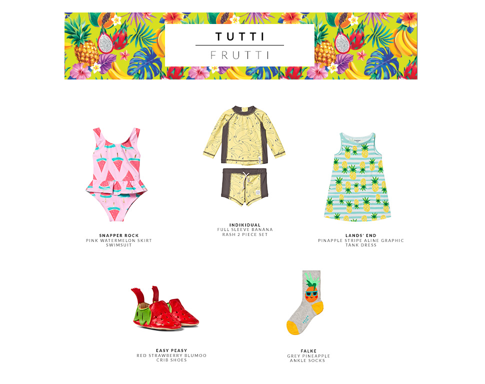 Top summer trends for little ones