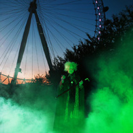 The London Eye at Halloween