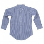 Ralph Lauren: Navy Stripe Shirt, £48.00