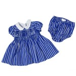 Ralph Lauren: Royal Blue and White Striped Smock Dress, £109.00