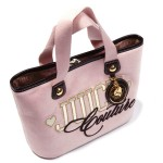 Juicy Couture: Stylish Pink Embroidered Handbag, £93.75
