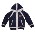 D&G: Blue Hooded Cardigan, £129.50