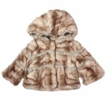 Juicy Couture: Blonde Faux Fur Coat, £151.50