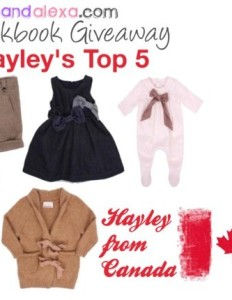 Hayley's Top 5