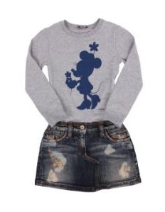 D&G Mini Mouse Denim Dress