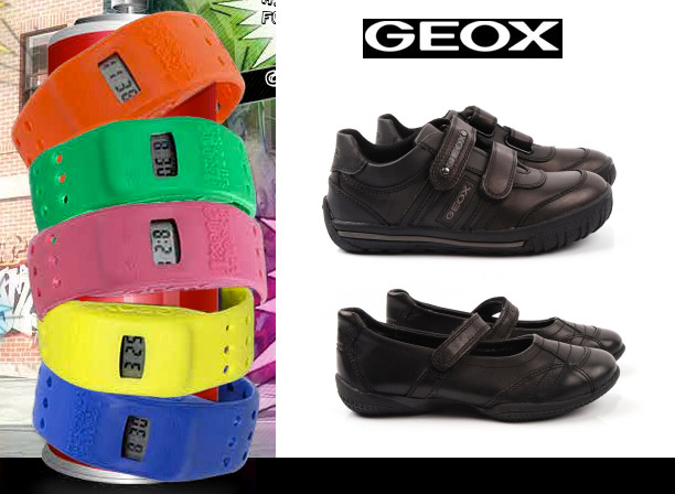 Geox Kids Jr Vita 24 (Big Kid) Sneakers & Athletic Shoes