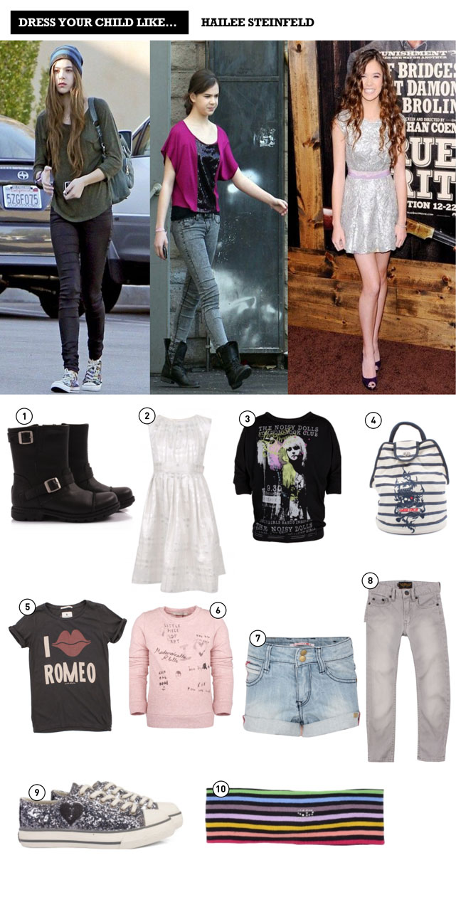 Dress Your Child Like Elle Fanning And Hailee Steinfeld