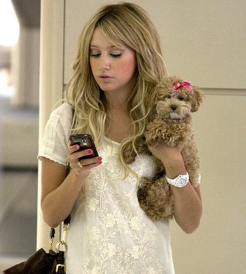 Ashley Tisdale White Toy Watch Plasteramic