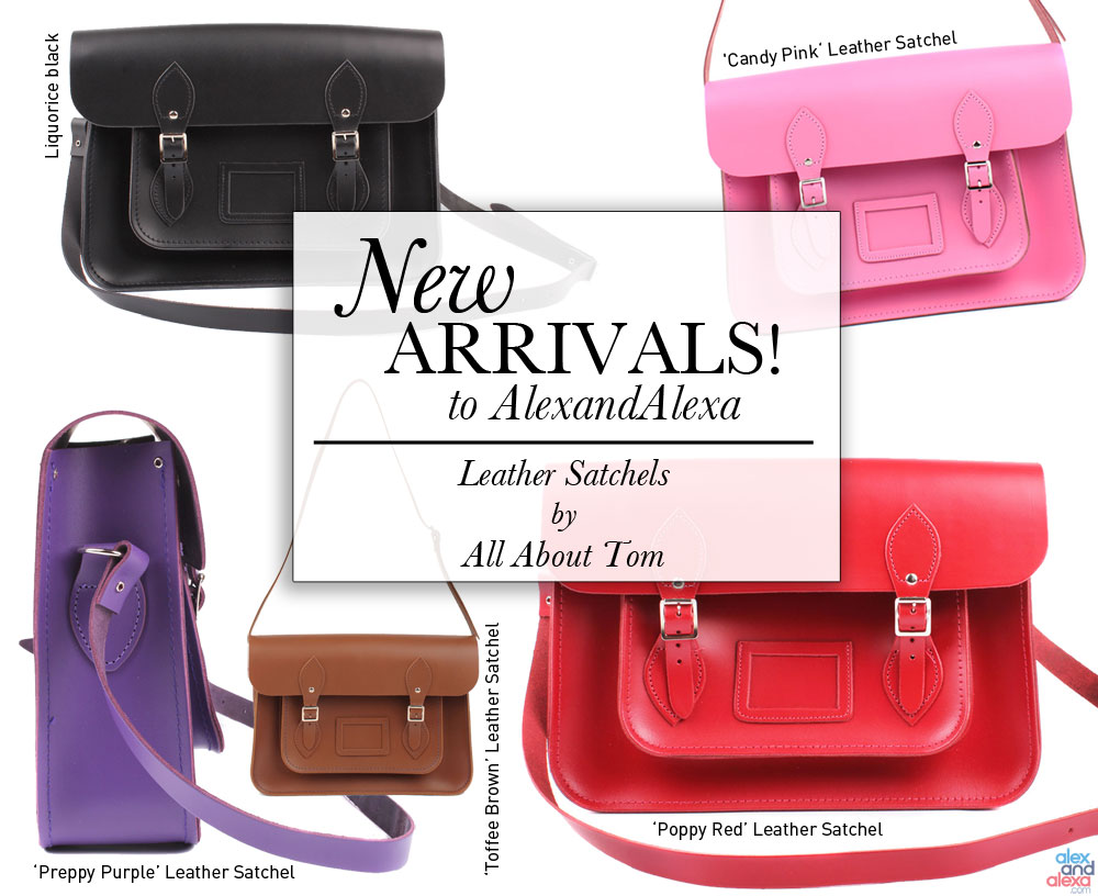 All About Tom Satchels at AlexandAlexa