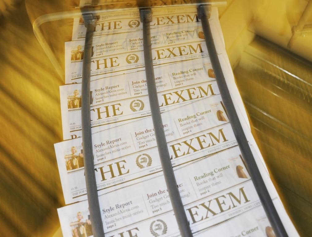 hot off the press - the lexem