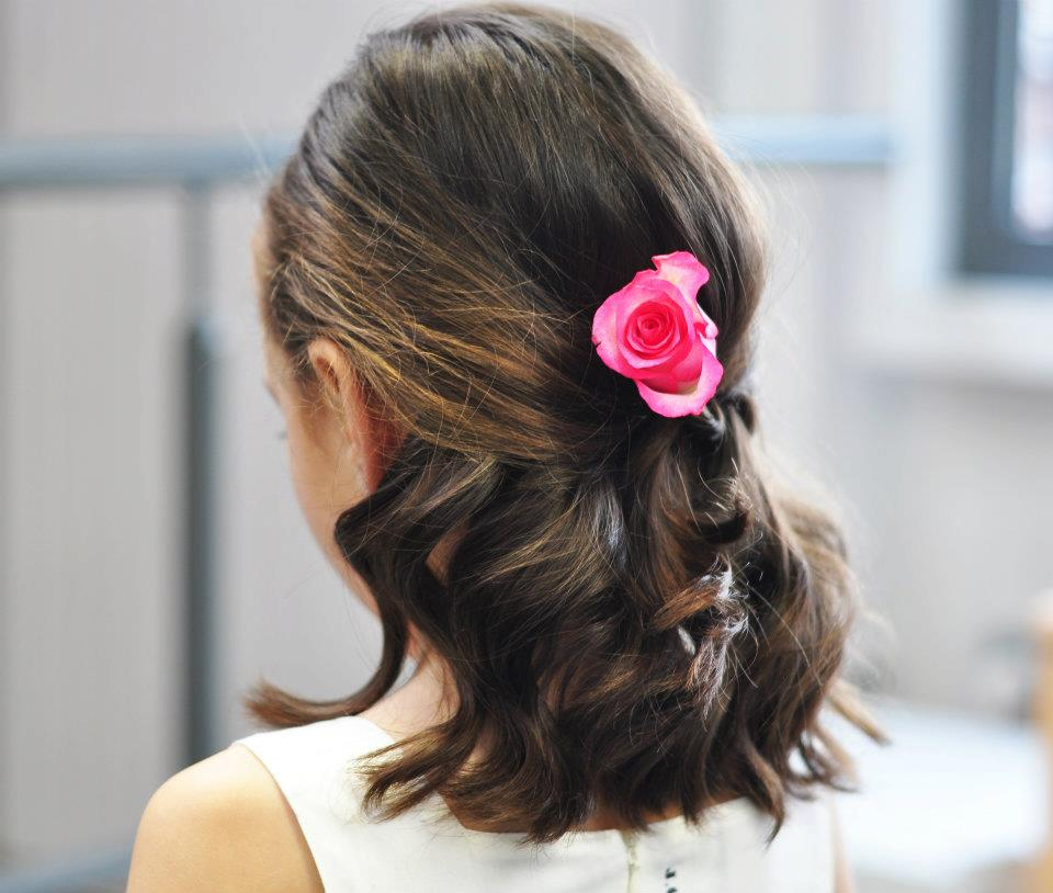 Junior Bridesmaid Hairstyles For Short Hair : Bridesmaid Hairstyles, Three Beautiful Hairstyles For Girls To Try At ...
