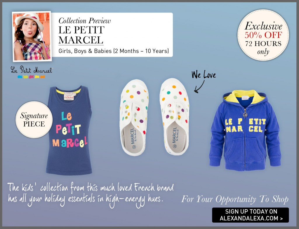 Collection preview le petite marcel