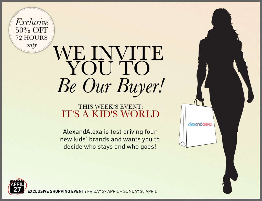 Be Our Buyer - April 27