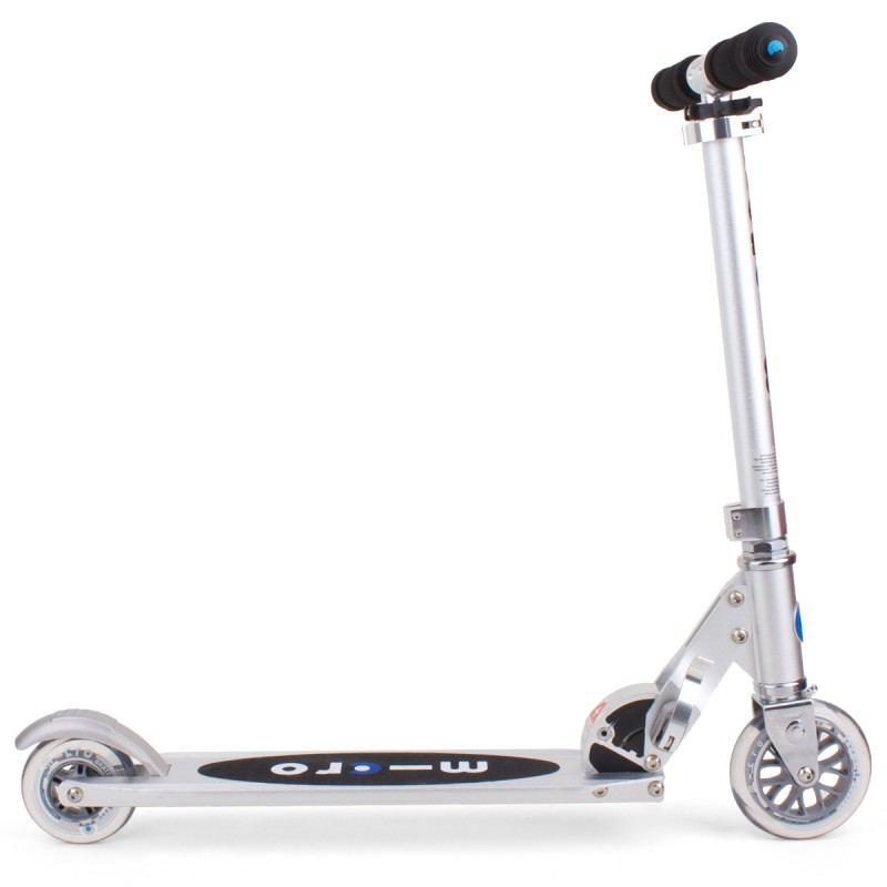 silver micro scooter for kids