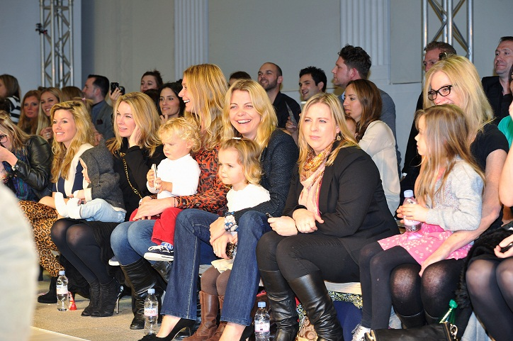 Global Kids Fashion Week AW13 Media And VIP Show - Front Row & Show