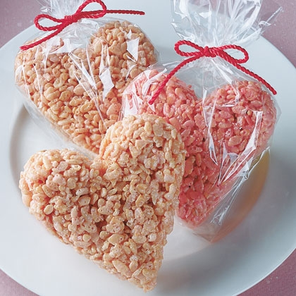 Easy Valentine S Day Recipes For Kids Rice Krispie Treats