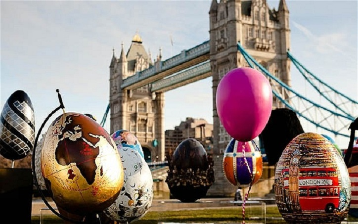 The UK's annual giant Easter Egg hunt is about to hatch