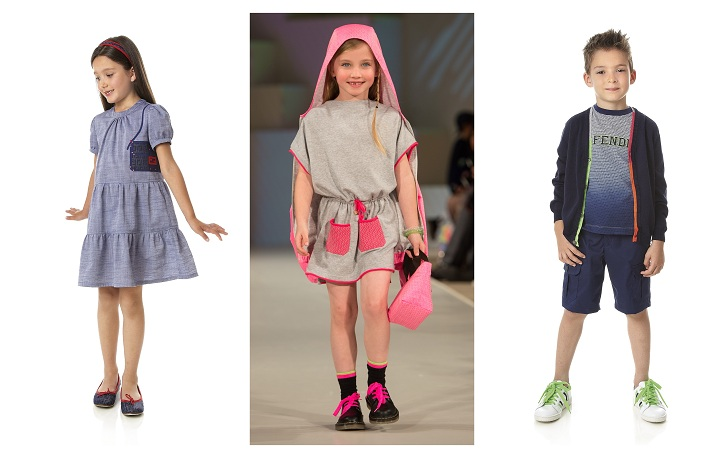 fead951326a Fendi featured on the catwalk at Global Kids Fashion Week