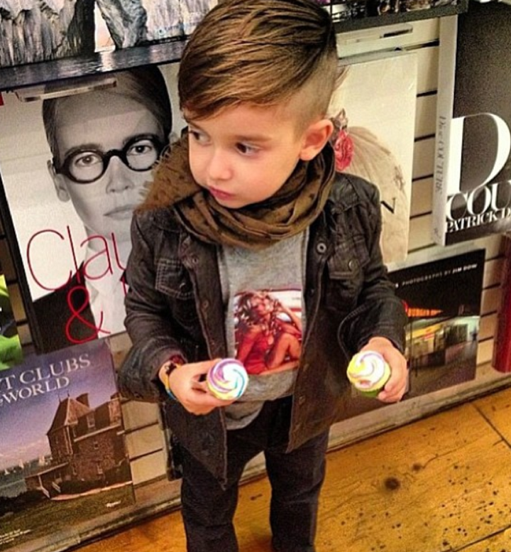 Pompadour Haircut Toddler : Alonso mateo the coolest boy on instagram