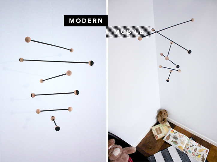Summer Craft How To Make A Modern Mobile With Myan Duong