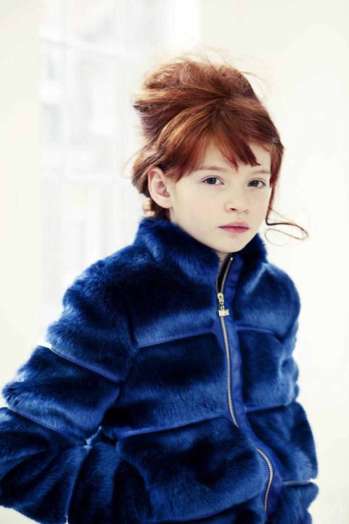 Little Girls Fur Coats | Down Coat