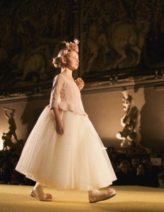 tutu skirts at the finale Monnalisa fall winter 2014