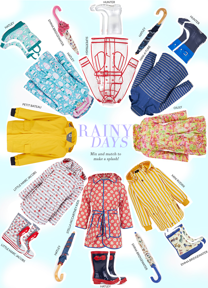 Make a Splash: New Season Kids Rainwear