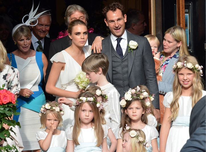 Poppy Delevingne And James Cook S Wedding Cute Bridesmaid And Page Boy Style