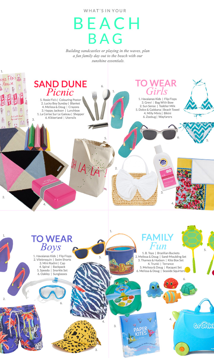 What s In Your Beach Bag  Sunshine Essentials 48ef5c028fd12