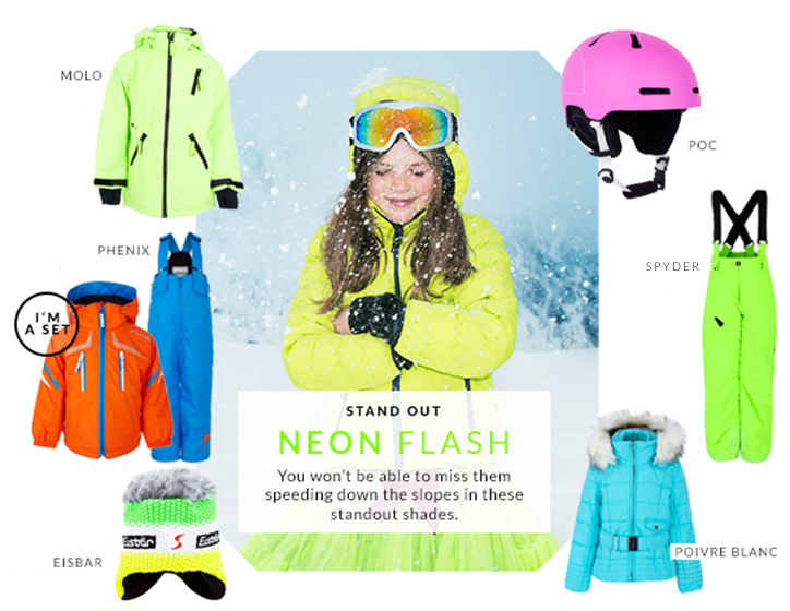Ski Style For Kids: Trends on The Slopes