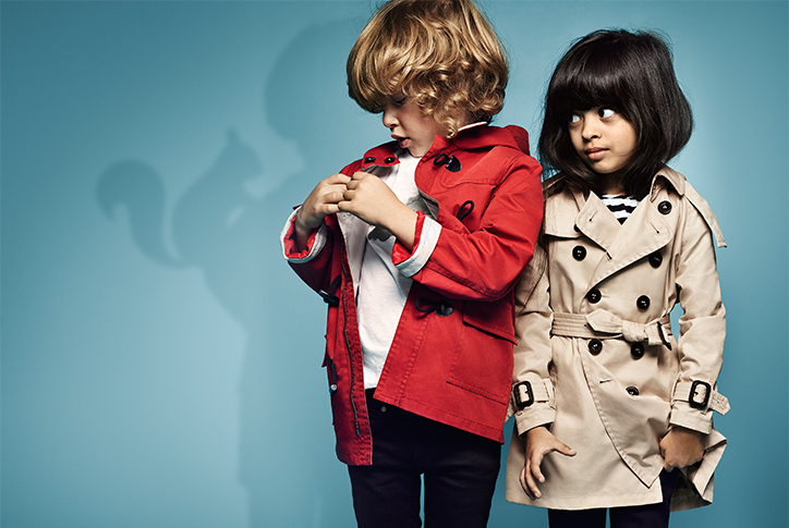 The Inspiration Behind the Burberry Kids SS15 Collection b5f49baebae5