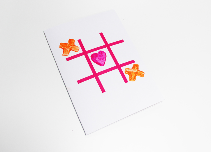 Kids Valentines Day Card Craft