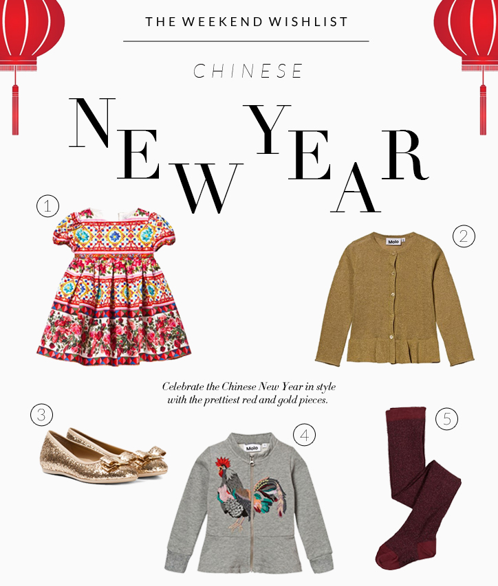 The Weekend Wishlist Chinese New Year x
