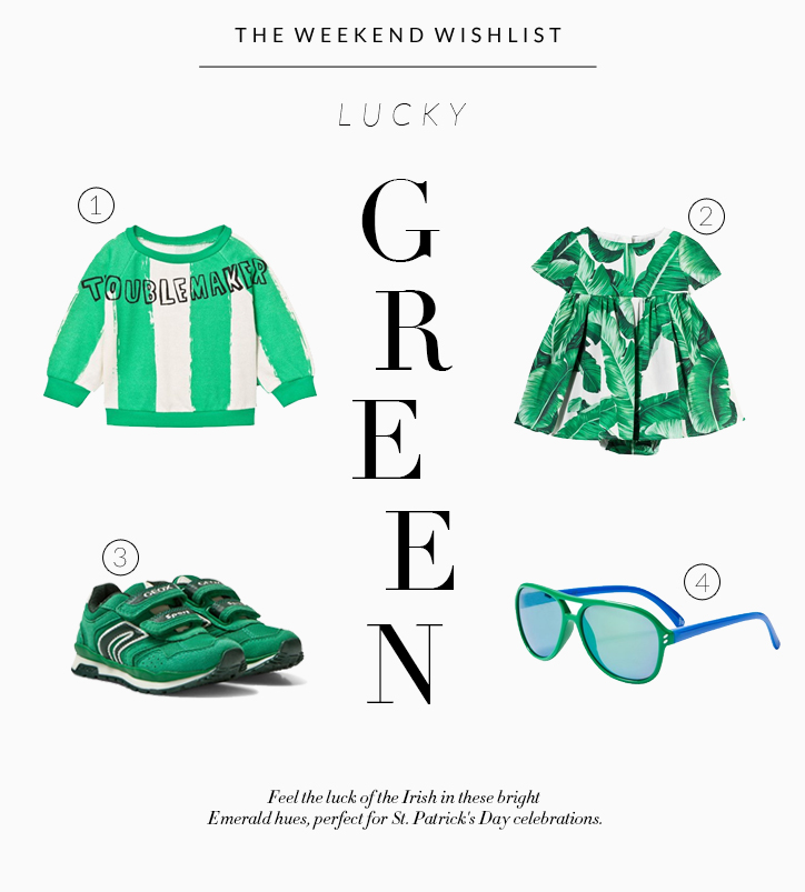 The Weekend Wishlist: Lucky Green