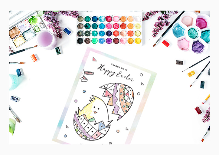 Easter Colouring Printable