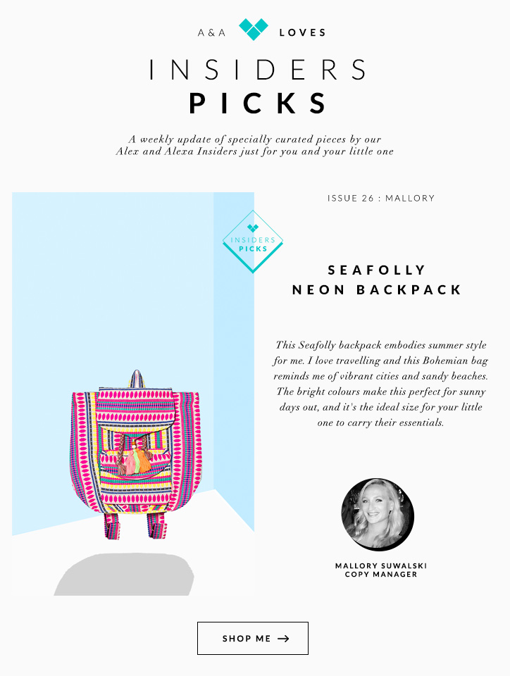 Seafolly Neon Backpack