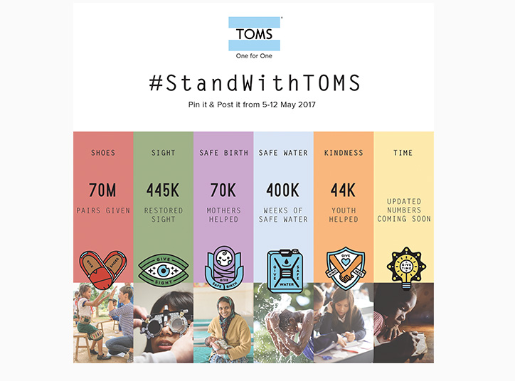 Stand with TOMS - Alex and Alexa